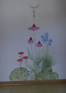hallway flowerbed