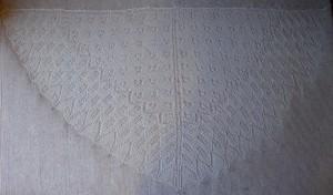 weißes Tuch auf weißem Grund - immer gut