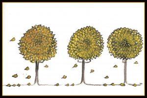 Herbstbäume II