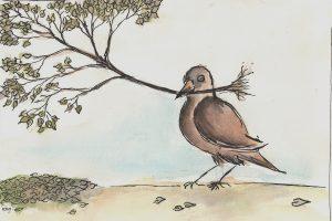 Es wird Herbst - Zeichnung von dieroteiris (www.glaubsches.net)